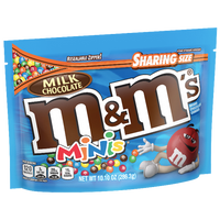M&Ms Sharing Size, Milk Chocolate Minis - 10.1oz - Water Butlers