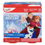 Yoplait Kids Yogurt Variety Pack, Frozen Disney Strawberry & Blueberry 8 Ct - Water Butlers