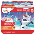 Yoplait Kids Yogurt Variety Pack, Frozen Disney Strawberry & Strawberry Banana 8 Ct