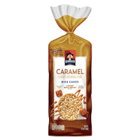 Quaker Rice Cakes, Caramel, 6.56 oz - Water Butlers