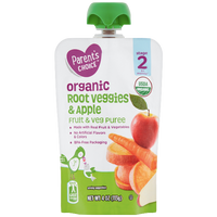 Parent's Choice Organic Puree, Root Veggies & Apple, 4 oz - Water Butlers