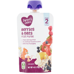 Parent's Choice Puree, Berries & Oats, 4 oz - Water Butlers