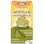 Wholly Guacamole Minis, Classic Mild - 6 Ct - Water Butlers