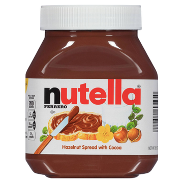 Nutella Ferrero Chocolate Hazelnut Spread, 26.5 Oz