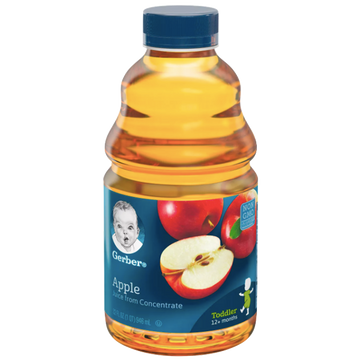 Gerber 100% Apple Juice, 32 oz