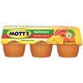 Mott's Applesauce Mango Peach, 4oz Cups, 6 Ct