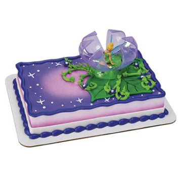 Disney Fairies Tinker Bell in Flower Birthday Cake