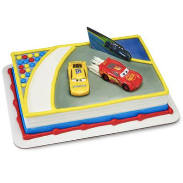 Disney Cars 3 - Ahead of the Curve Birthday Cake