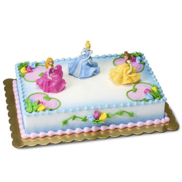 Disney Princess Once Upon a Moment Birthday Cake