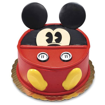Disney Mickey Mouse Signature Birthday Cake
