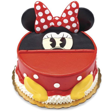 Disney Minnie Mouse Signature Birthday Cake