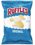 Ruffles Ridged Potato Chips, Original - 9oz - Water Butlers
