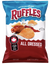 Ruffles Ridged Potato Chips, All Dressed - 8.5oz - Water Butlers