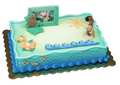 Disney Moana Birthday Cake