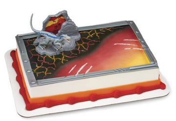 Jurassic World 2 Fallen Kingdom Birthday Cake