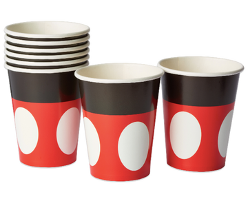 Mickey Mouse Paper Party Cups, 9 oz, 8 Ct