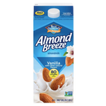 Blue Diamond Almond Breeze Vanilla Almondmilk, Half Gallon - Water Butlers