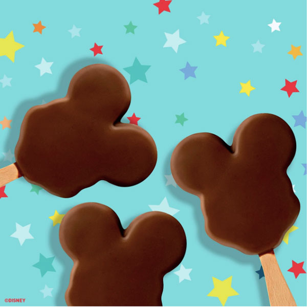 Disney Mickey Mouse Ice Cream Bars - 6 Ct - Water Butlers