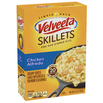Velveeta Skillets Ultimate Chicken Alfredo Dinner Kit, 12.5 oz
