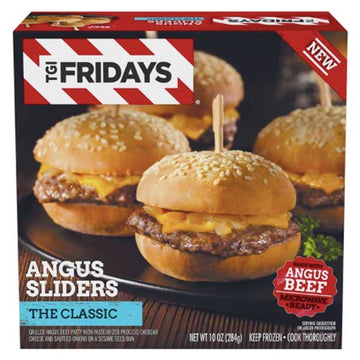 TGI Fridays The Classic Angus Sliders, 10 oz