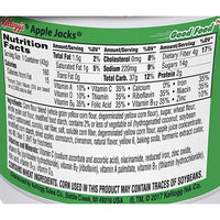 Kelloggs Apple Jacks Cereal Cup 1.5 oz - Water Butlers