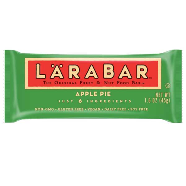 Larabar Gluten Free Bar, Apple Pie, 5 Ct - Water Butlers