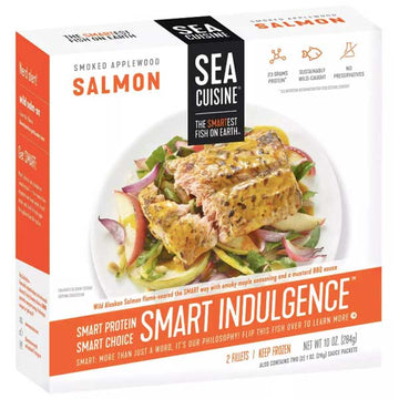Sea Cuisine Smoked Applewood Salmon, 10 oz