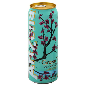 AriZona Green Tea with Ginseng and Honey, 23 fl oz
