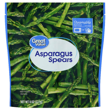 Great Value Asparagus Spears, 8 oz