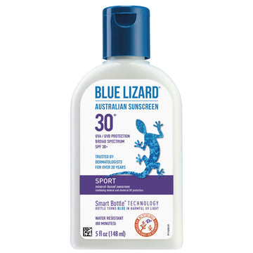 Blue Lizard Australian Sunscreen, Sport, SPF 30+, 5 Oz