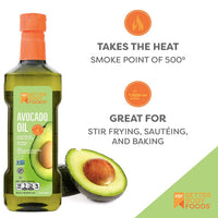 BetterBody Foods Pure Avocado Oil, 16.9 oz - Water Butlers