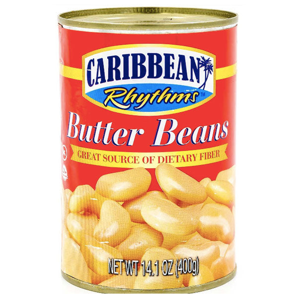 Caribbeans Rhythms Butter Beans, 14.1 oz - Water Butlers