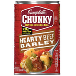 Campbell's Chunky Hearty Beef Barley, 18.8 oz - Water Butlers