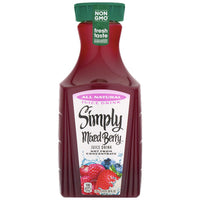 Simply Mixed Berry Juice Drink, 59 Fl. Oz. - Water Butlers