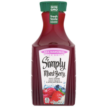 Simply Mixed Berry Juice Drink, 59 Fl. Oz.