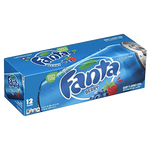 Fanta Cans Berry 12fl oz, 12 Ct - Water Butlers