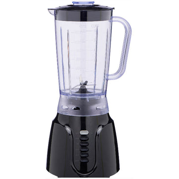 Mainstays 6-Speed Black Blender with Pulse Function & Cord Storage