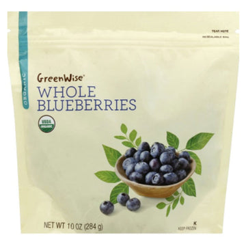 GreenWise Organic Whole Blueberries, 10 oz