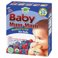 Baby Mum-Mum, Blueberry & Goji, 24 Ct