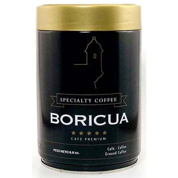 Boricua Café Premium, Ground Coffee, 8.8 oz