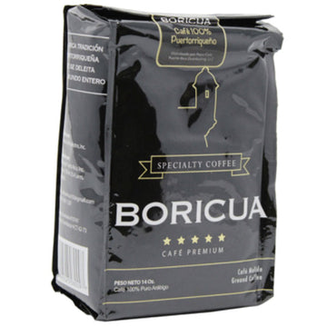 Boricua Café Premium, Ground Coffee, 14 oz