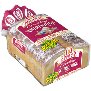 Arnold Country Sourdough Bread, Rustic with Rich, Deep Flavor, 24 oz
