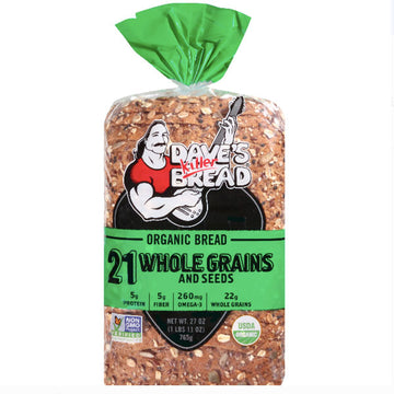 Dave's Killer Bread® 21 Whole Grains and Seeds Organic Bread 27 oz.