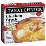 Tabatchnick Chicken Broth with Noodles & Dumplings, 15 oz - Water Butlers