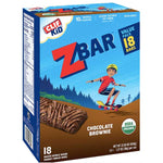 CLIF Kid ZBAR, Organic Granola Bars, Chocolate Brownie Cookie, 18 Ct - Water Butlers