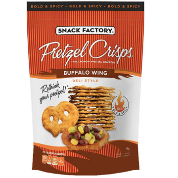 Snack Factory Pretzel Crisps, Party Size - Buffalo Wing, 14 oz