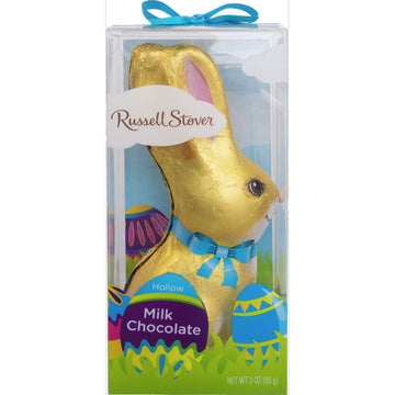 Russell Stover Hollow Milk Chocolate Bunny, 3 oz.