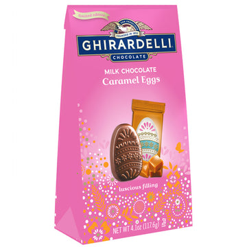 Ghirardelli Milk Chocolate Caramel Eggs, 4.1 oz.