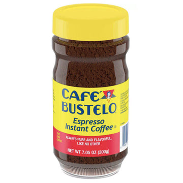 Café Bustelo Espresso Dark Roast Instant Coffee, 7.05 oz