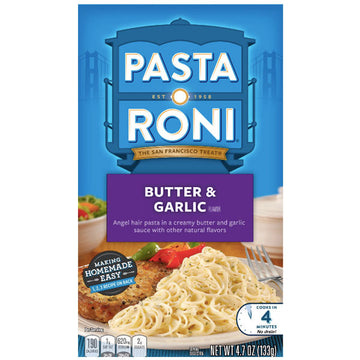 Pasta Roni Butter & Garlic Angel Hair Pasta, 4.7 oz
